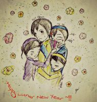 [APH_Vietnam] Happy Lunar New Year~ by vn4eyedgirl