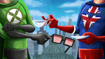 Xray and Vav Rise title card entry (no text) by iDrawBagman