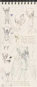 New Sketches of My OC by Ai-Lilith