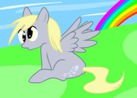Derpy Hooves by HoveringAbout