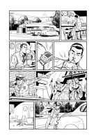 Dick Tracy Sequential comission by angryrooster