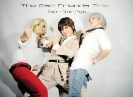 The Bad Friends Trio by SidarthuR