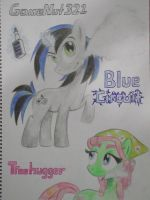 GameNut321 and Treehugger vaping by BrianChooBrony-Artie