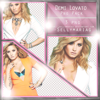 Demi Lovato Png Pack by SellyMariaG