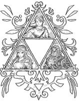 Triforce by zaphodzarniwoop