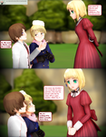 Rumano Question 629 - Meeting Lily by Ask-RuMano