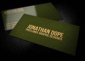 Goldengate  Business Card by graphcoder