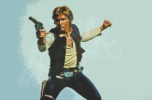 Han Solo by nicollearl