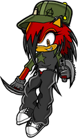 Gie The Hedgehog by Gie