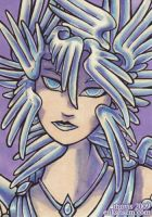 Angel Face ACEO by thrivis