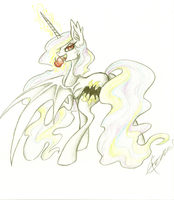 Celestia Bat by smupitpony