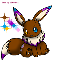 Eevee Adopt for Checkerstheponymon by P-Pixie-Adopts-Bases