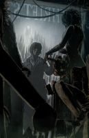 Silent Hill Downpour #3 Page 2 by T-RexJones