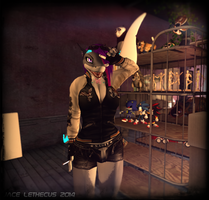 Jayce -Helping Move-Random Moments- Second Life by Jace-Lethecus