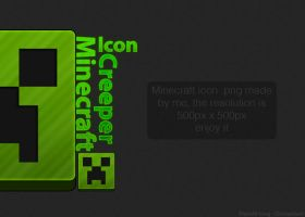 Minecraft Creeper Icon by MetalIrving