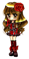 .+ Red Chibi Love+. by Lettelira