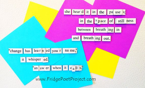 The Daily Magnet #350 by FridgePoetProject