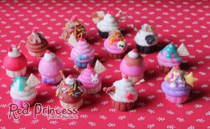 Cupcakes para Andrea by theredprincess