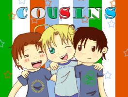 Cousins by Dulcee-Inviernoo