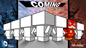 New52: Justice Leage Cubeecraft Teaser 2 by IzLacson