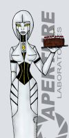 GlaDOS by PrincessAbiliss