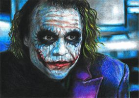 Heath's Joker by GabrielGrob
