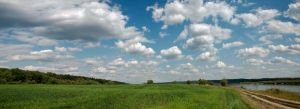Oka river panorama by marphey