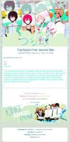 Tsuritama Free Journal Skin by pomppet