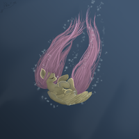 Fluttershy. Back to the nature. by AlphaNimfor