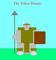 The Ether Bunny by Ironhold