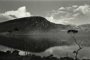 Black and white / Dove Lake near the Mt. Cradle by Mongolhill