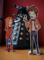 Cute Little Doctor Who by Distorted-Eye