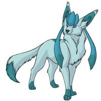 ...pogheys... Glaceon by Rainbow-Cemetery