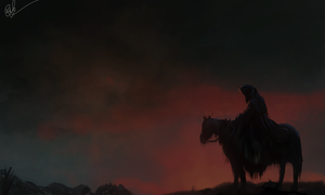 Ride of the Nazgul by lord-phillock