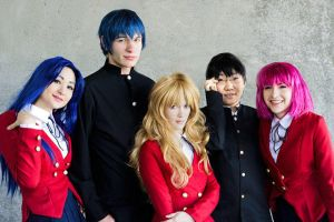 Toradora at AX by Shiya