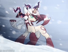 Winter Vulp by QueenBloodySky