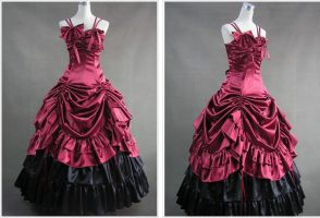 Gothic Lolita Dress by weodress