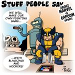 Stuff people say 270 by FlintofMother3