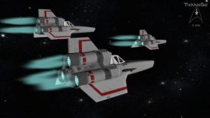 Colonial Vipers Mk I by TrekkieGal