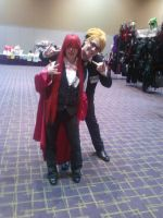 IkasuCon 2011 - Grell n Ronald by KurusuSexual