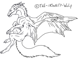 5 tailed wolf template by runesnight on deviantart