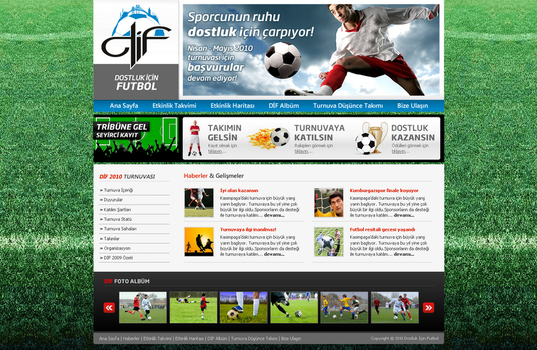 DIF Football for Friendship by siracel