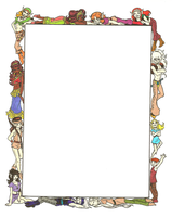 ElfQuest Cast Border by passingfancyrae