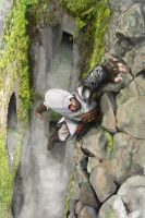 Assassin's Creed Altair climbing by ThadRobeck