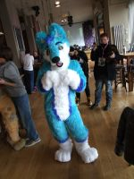 Sparky Full Suit Commission by CodexGamerWolf
