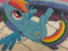 In Beads- Rainbow Dash by luckygirl88