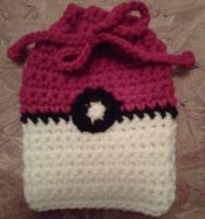 Pokeball deck bag by crochetamommy