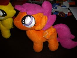 Scootaloo Plush (MLP FIM) by Celestia-In-Love