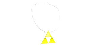 MMD Triforce Necklace DL by chickid11