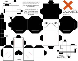 Zacharie Off Cubeecraft by Ixcuinan